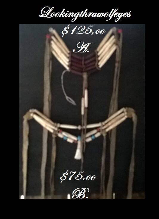 2 Chokers deals.All Natural, no plastic