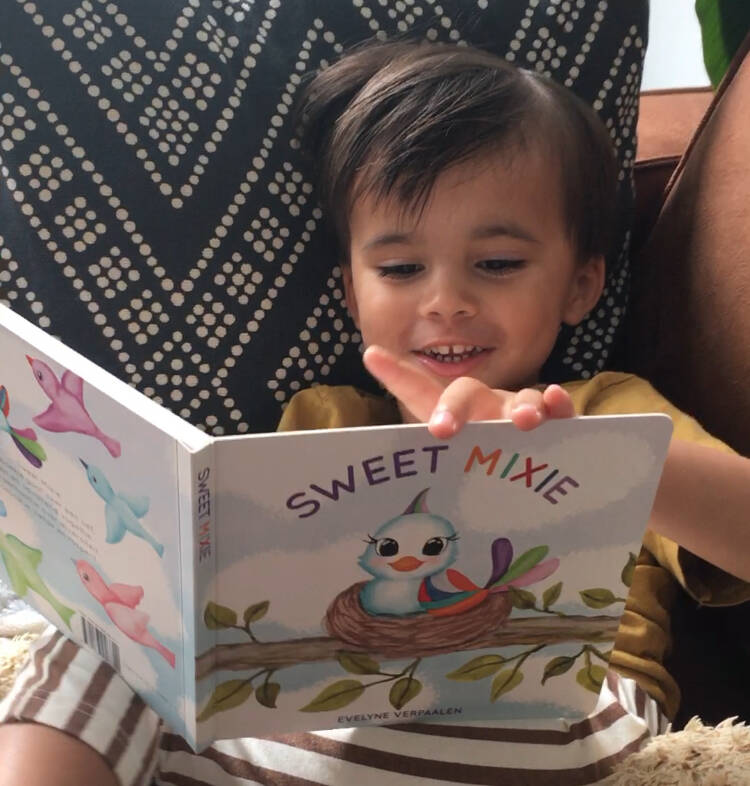 Kinderboek Sweet Mixie Nederlands