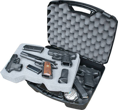 4 Pistol Handgun Case