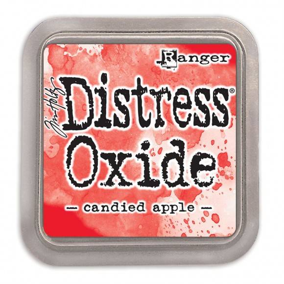 Distress Oxide Candied Apple pad