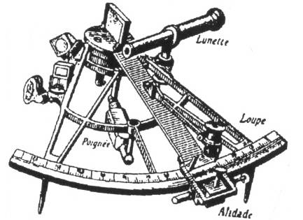 NS F4605 Sextant