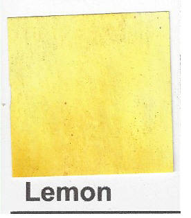 Brusho Lemon