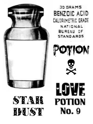 SW N13032/158 Potion Flasche