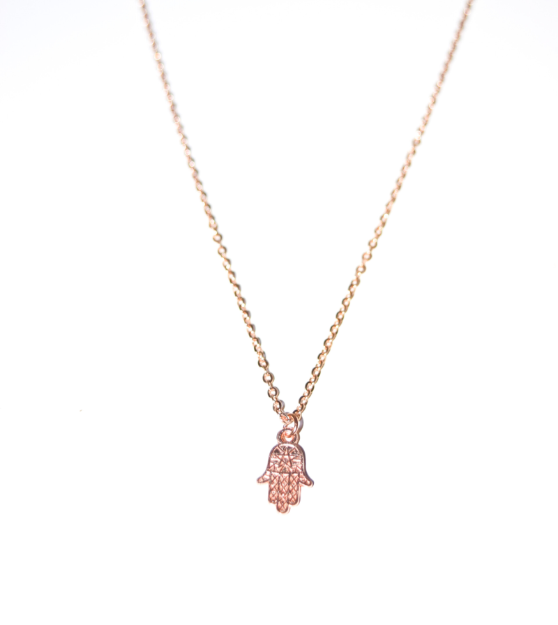 Ketting hamsahand rose gold