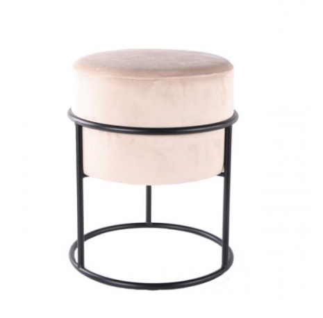 Home Society Footstool Gaby Sand