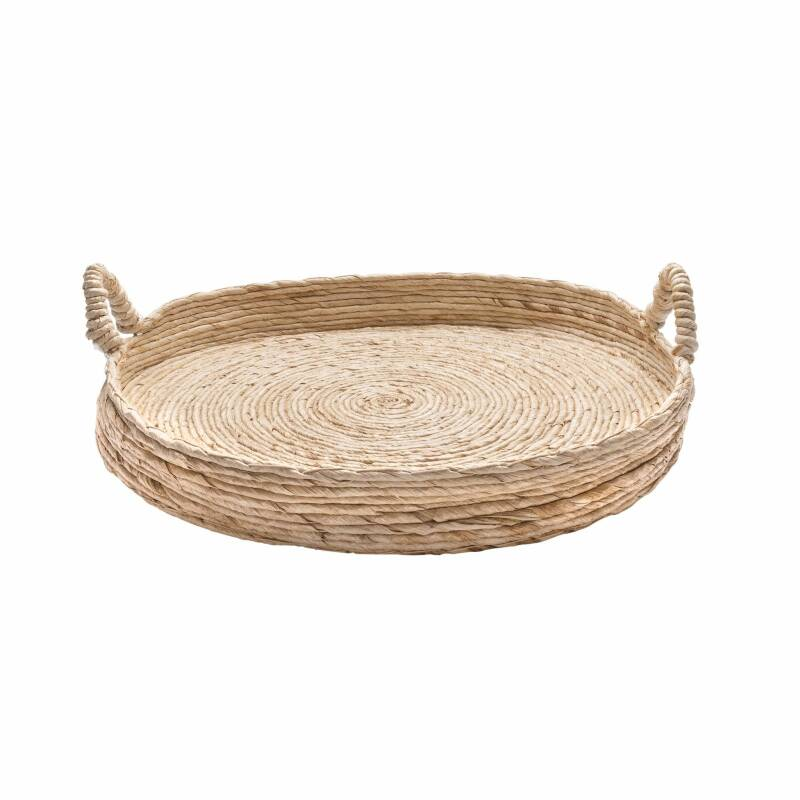 ORIGINAL HOME ABACA TABLE TRAY - M