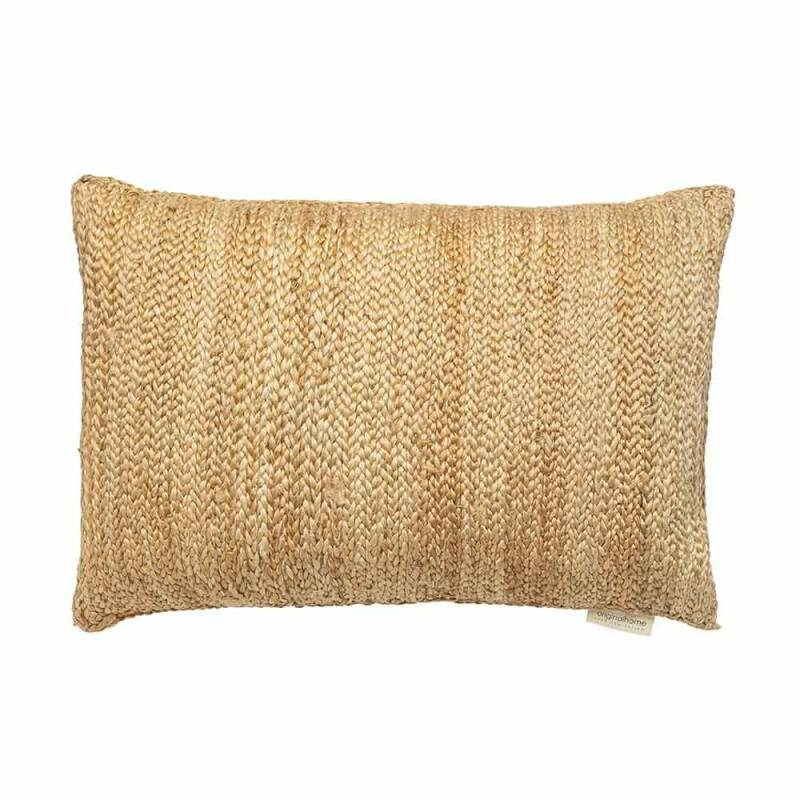 ORIGINAL HOME JUTE CUSHION - 60 X 40 CM