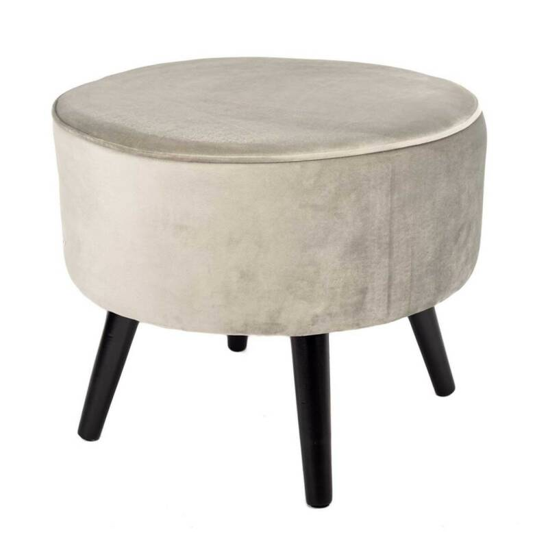 Home Society Footstool Tess Grey