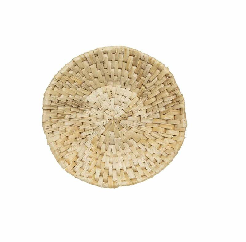ORIGINAL HOME ABACA WALL TRAY ART - M