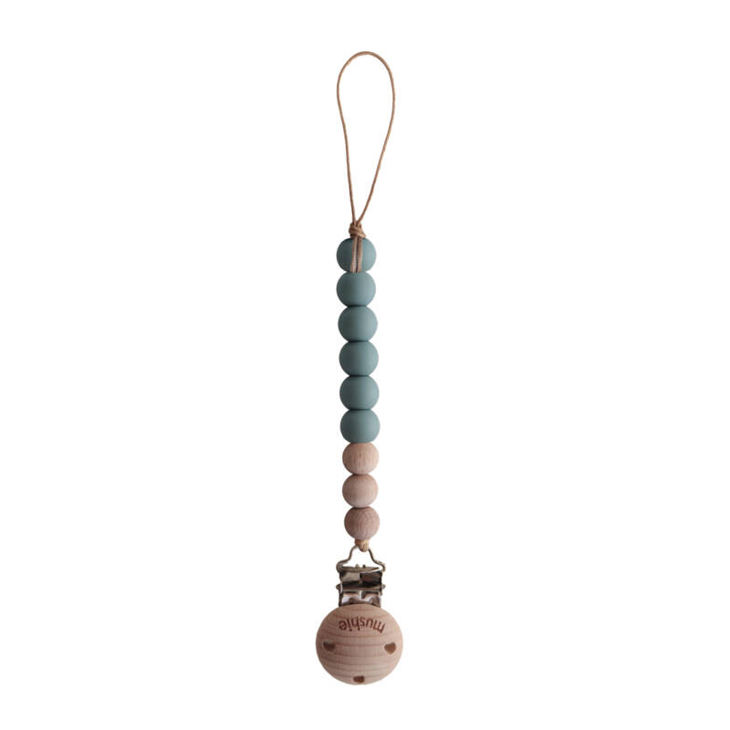 Mushie Speenkoord Cadet Blue
