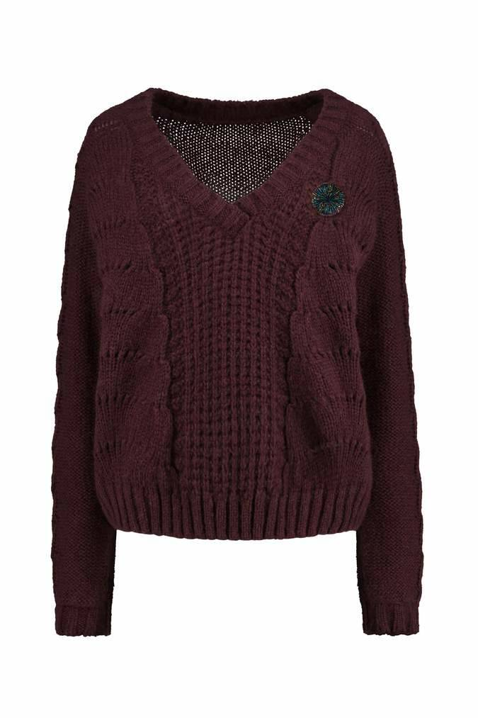 SALE 50% Pullover Bordeaux POM Amsterdam