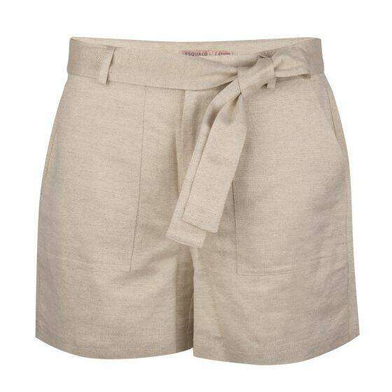 Short linen metallic Esqualo