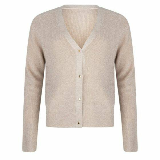 -30% Cardigan Lurex Buttons Esqualo
