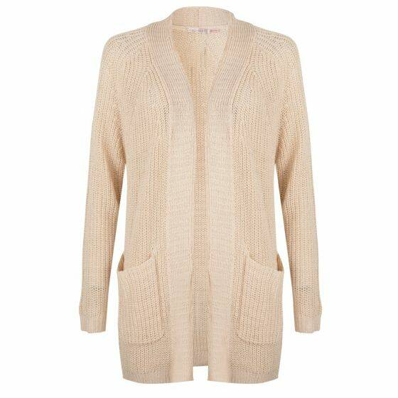 Cardigan Brush Placket Esqualo