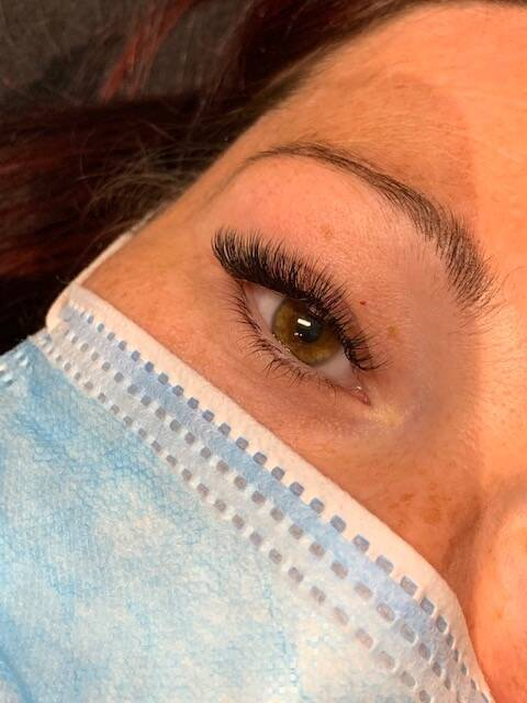Perfectietraining One By One / Russian Volume lashes
