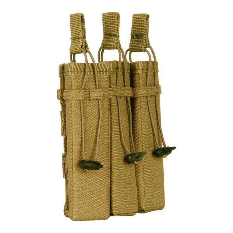 Molle pouch side arm 3 mags