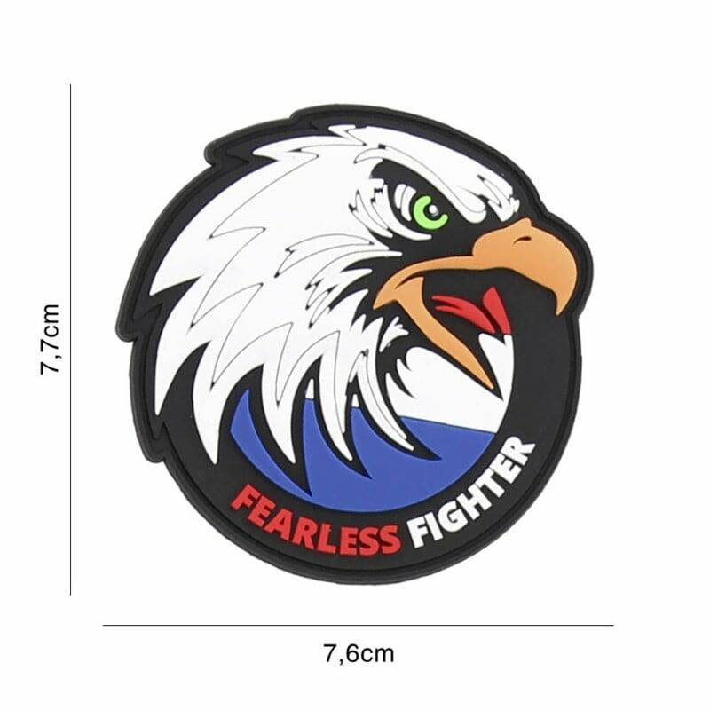 Dutch Fearless Fighter PVC patch