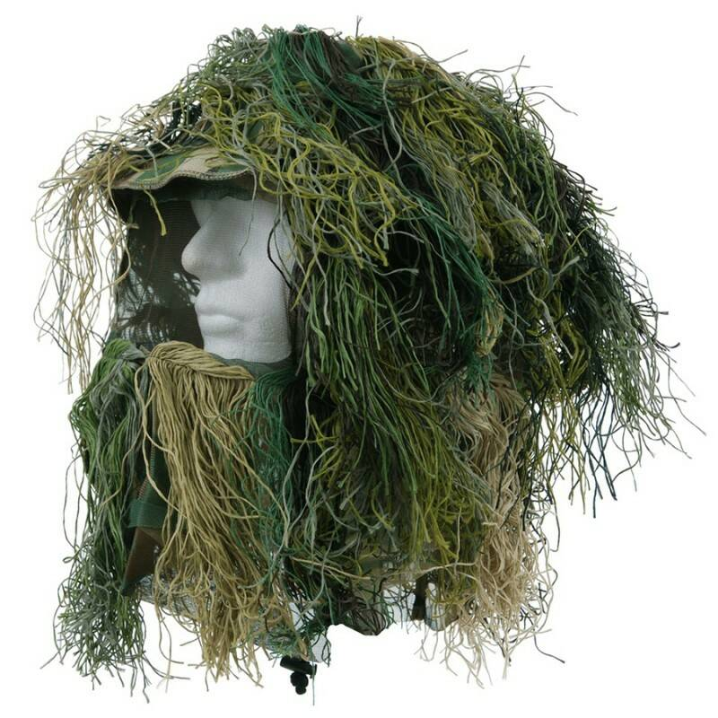 Airsoft Ghillie Suit Camo Hoofd