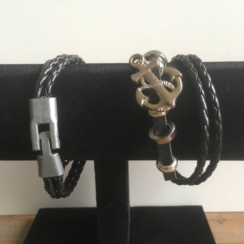 Stoere armband met anker