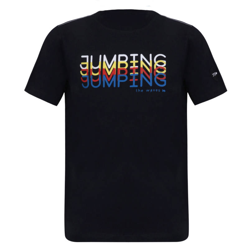 Jumping The Couch T-shirt Jumping - Navy