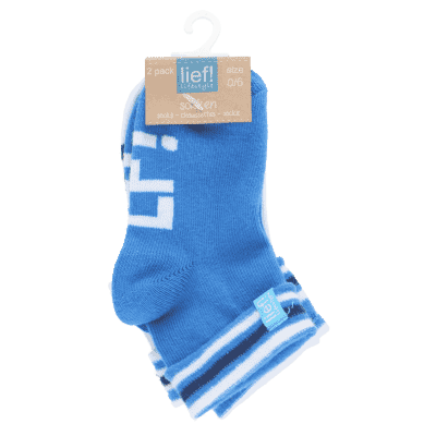 Lief Lifestyle Socks - Blue/White