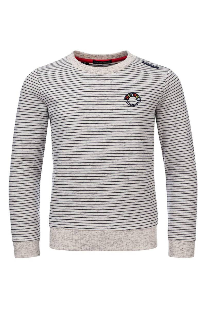 Common Heroes Cas Sweater -Ivory Melee