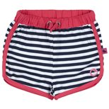 Birds Short Gestreept - Navy/White/Pink