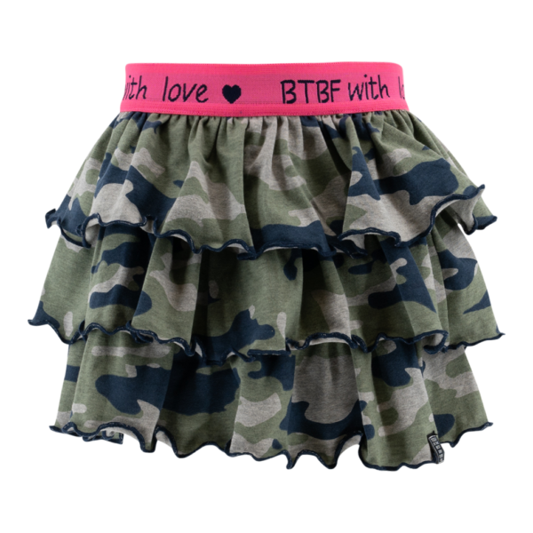 BORN to be Famous Rok Camouflage - Army Green