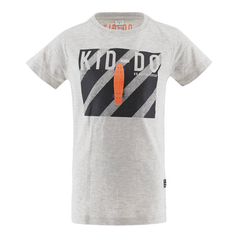Kiddo  Shirt Ruben - Grey Melange