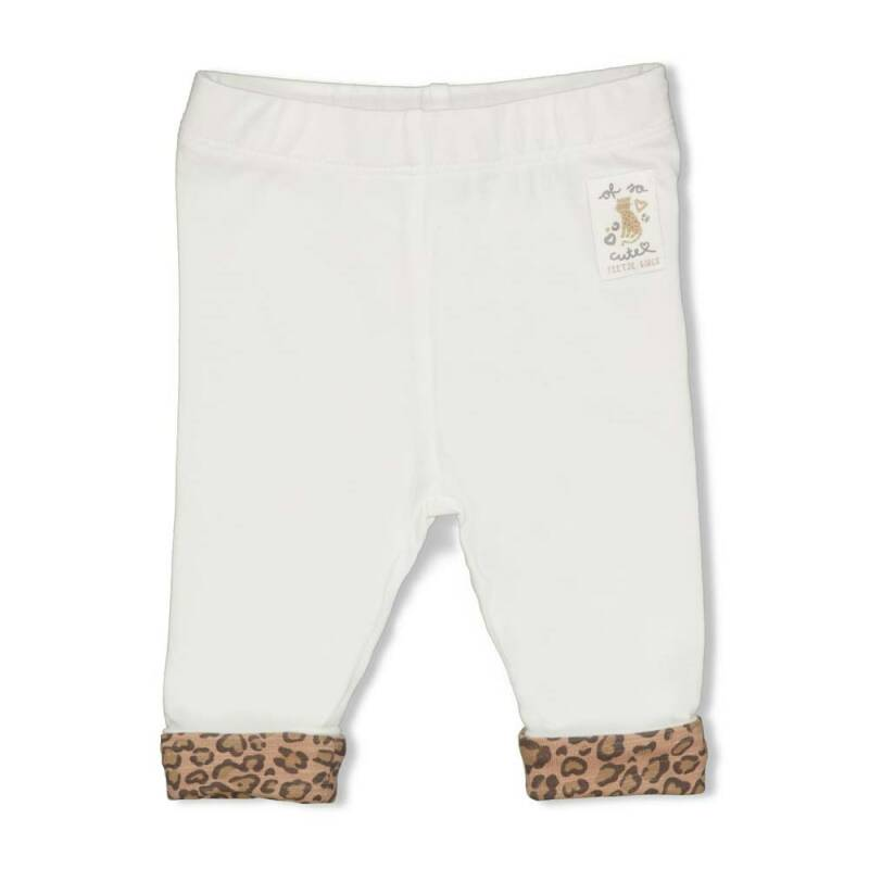 Feetje Legging Panther Cutie - Off White