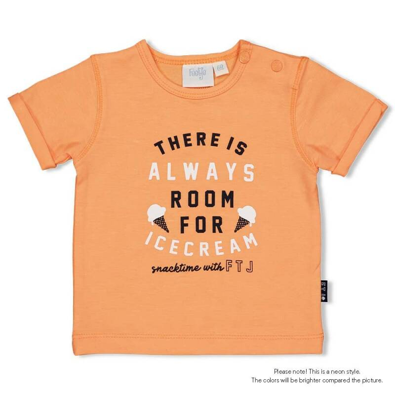 Feetje Shirt Always - Neon Orange
