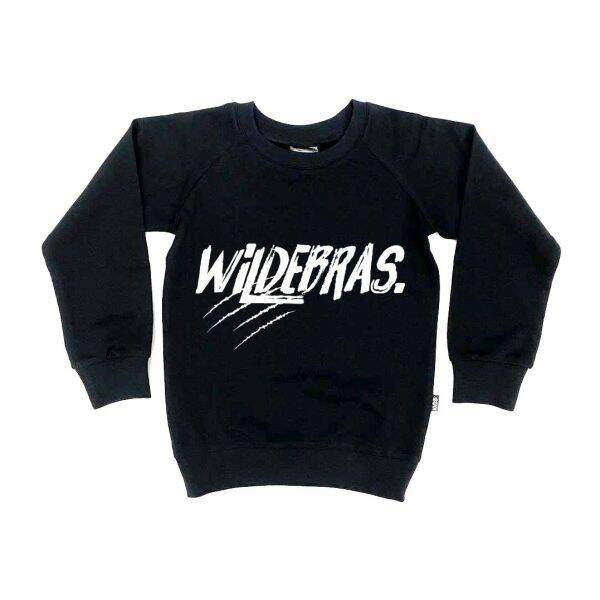 KMDB Sweater Wildebras - Black/White