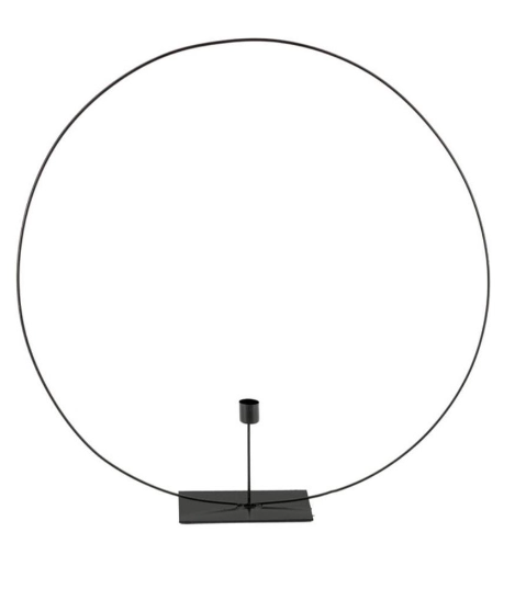 CANDLE HOLDER CIRCLE L