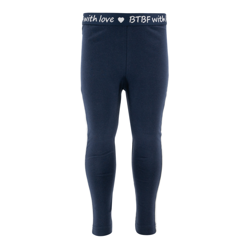 -20% Born to be Famous Donkerblauwe legging