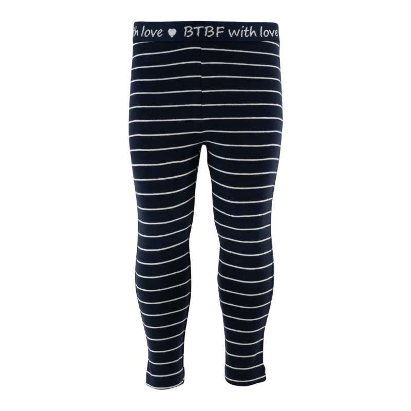 -50% Born to be Famous Gestreepte legging