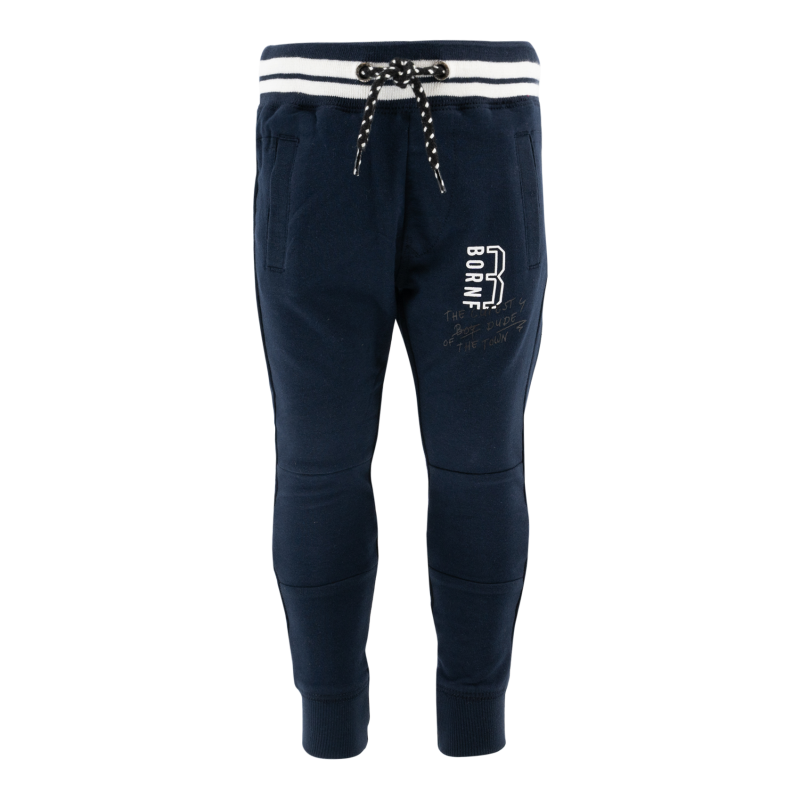 -20% Born to be Famous Donkerblauwe broek