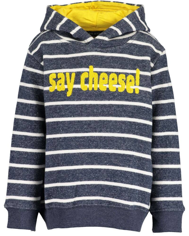 Blue Seven Sweater Say Cheese