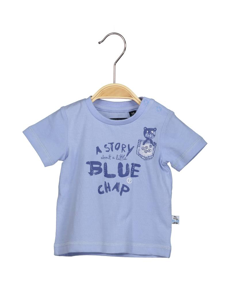 -50% Blue Seven lichtblauw T-shirt Little blue chap