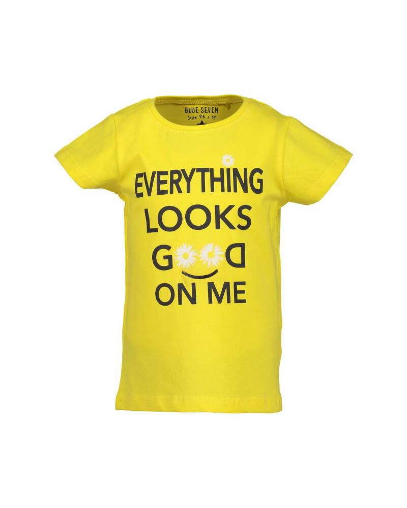 -50% Blue Seven Geel t-shirt Everything looks good on me