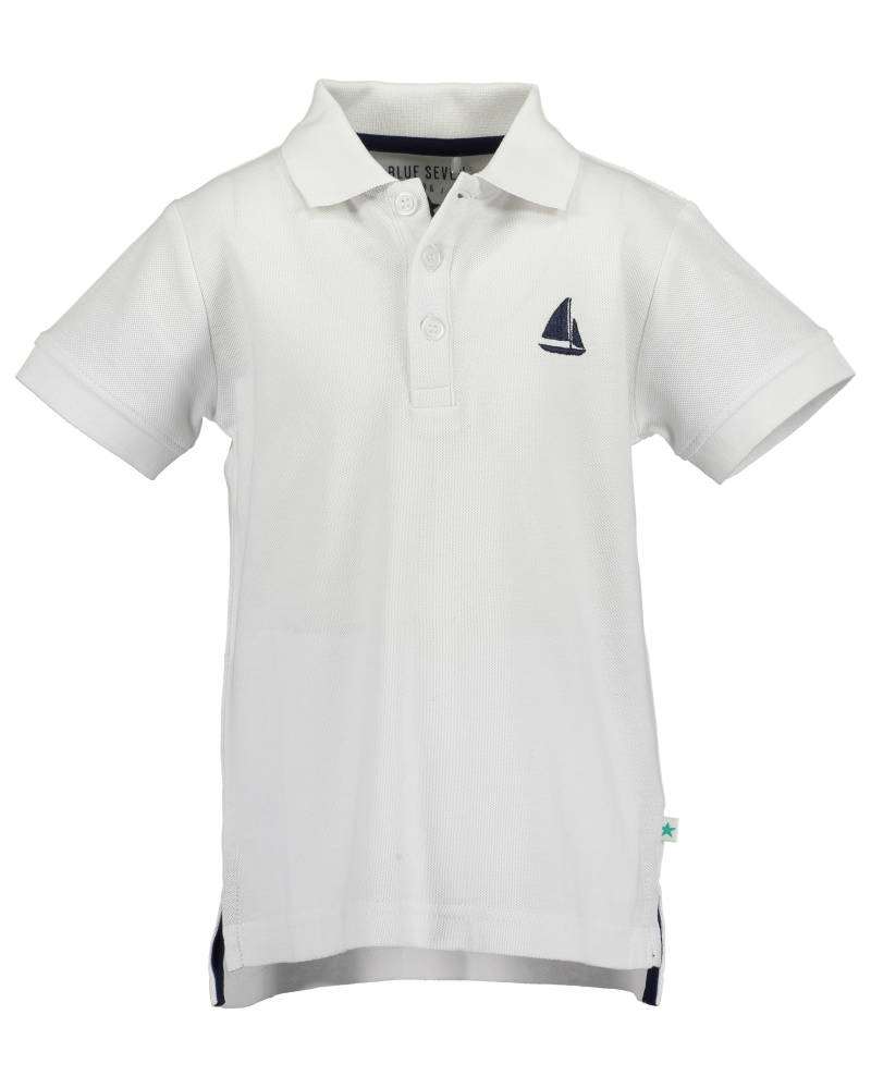 -50% Blue Seven Witte polo