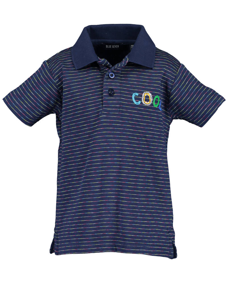 -50% Blue Seven Gestreepte polo Cool