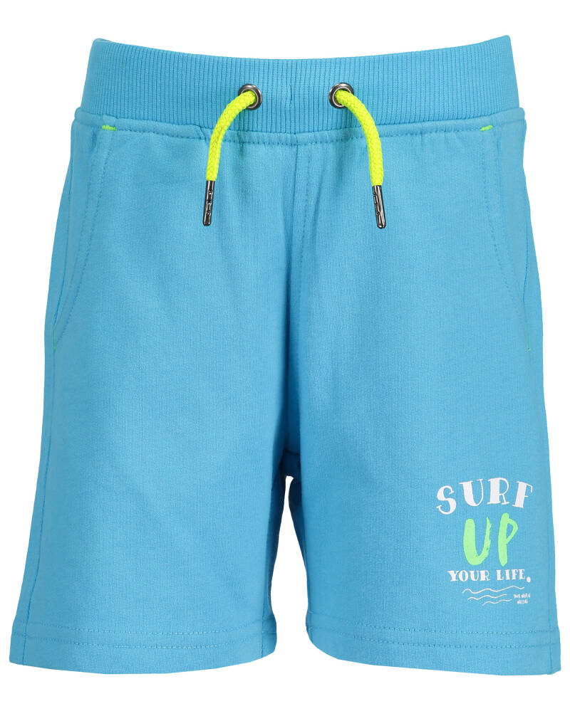 -50% Blue Seven Blauwe short Surf up