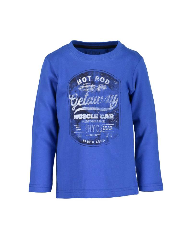 -50% Blue Seven Kn Blauw shirt Muscle Car