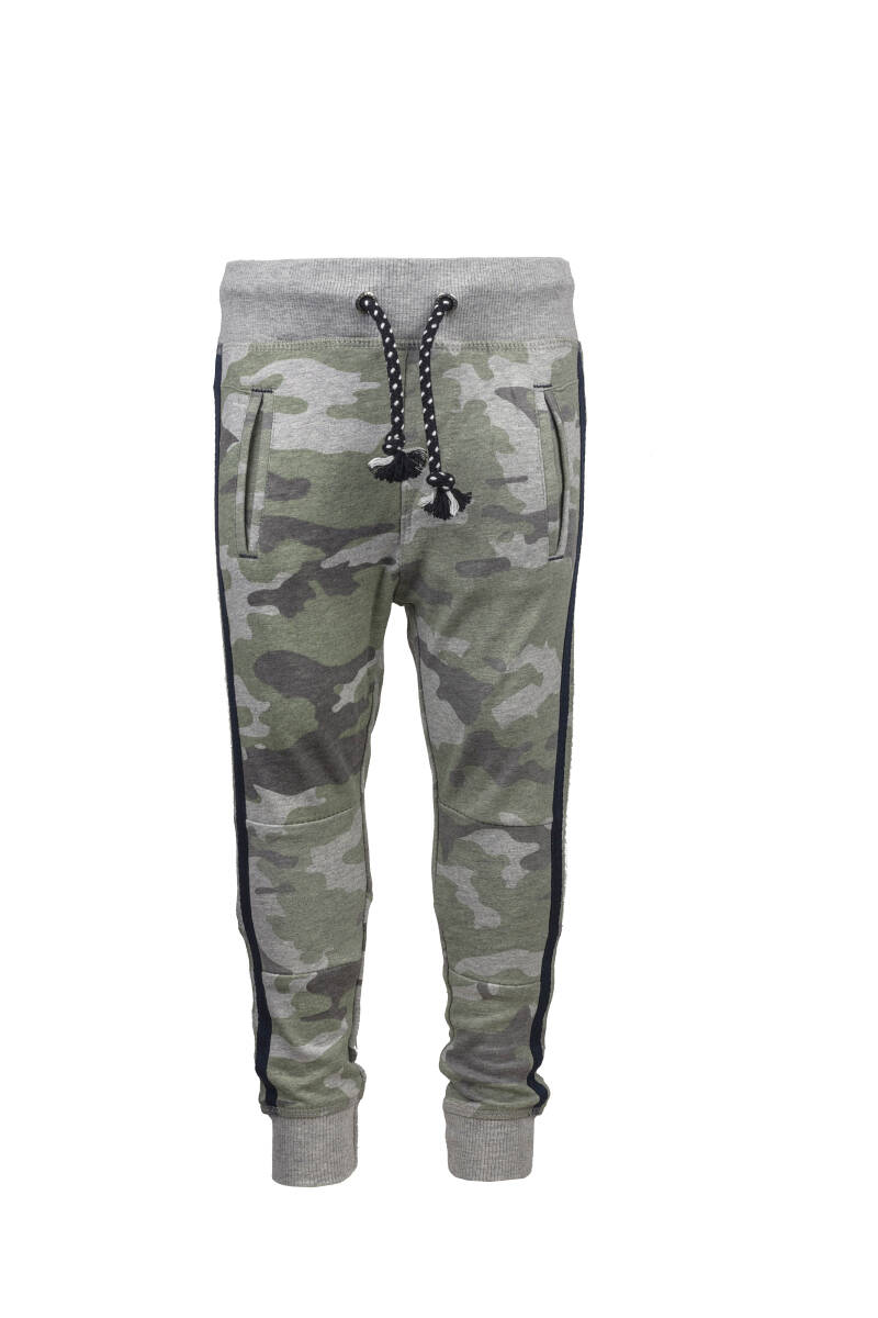 -50% Born to be Famous Camouflage broek