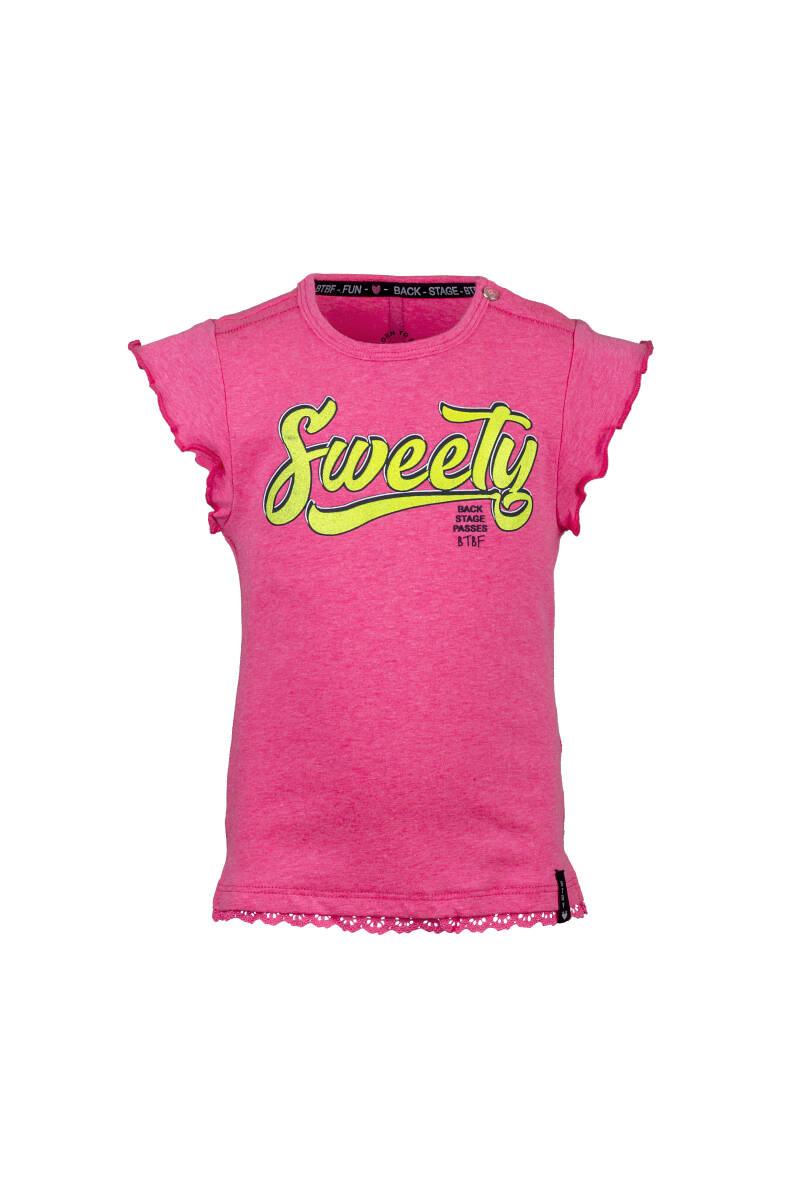 -50% Born to be Famous Roze t-shirt Sweety