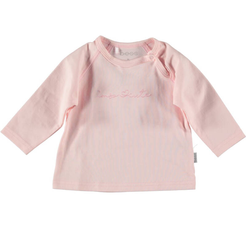 B.E.S.S. Shirt l/m i'm so cute roze