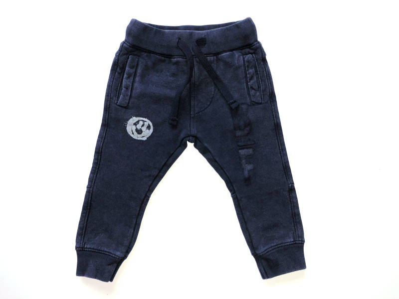 -50% Born to be Famous Donkerblauwe broek