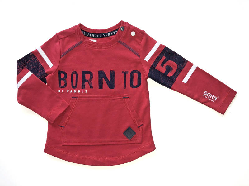 -50% Born to be Famous Rood Shirt