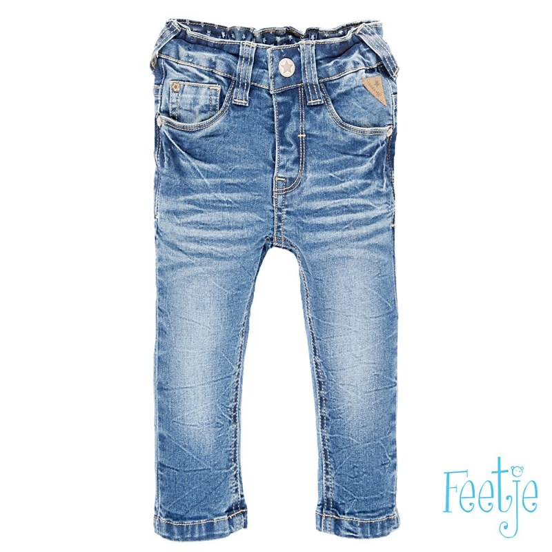 Feetje Bleached denim power stretched slim fit