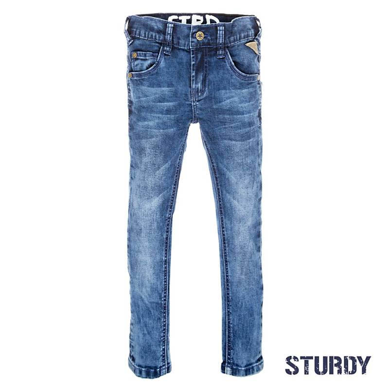 Sturdy Blue denim power stretched slim fit 107